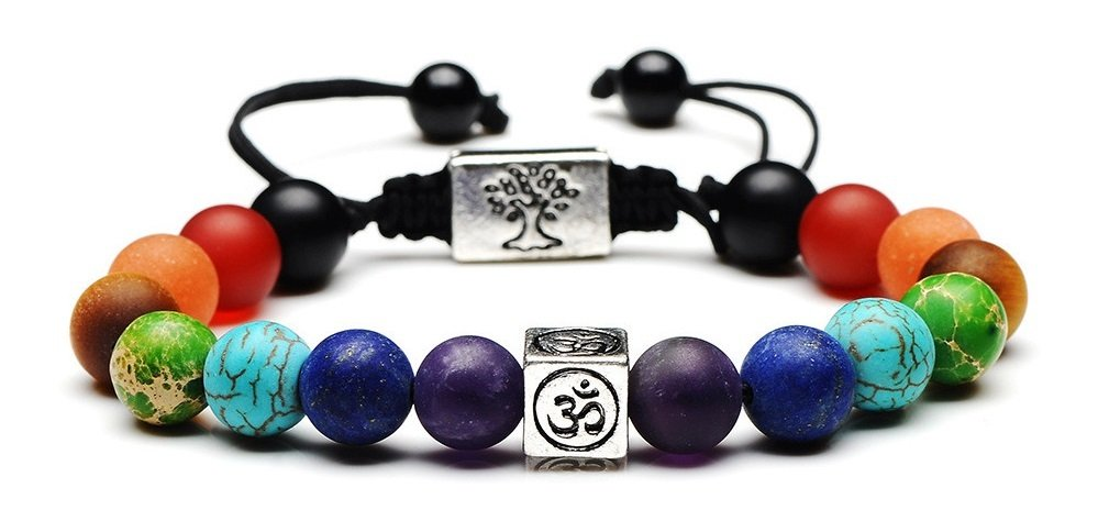 Reiki Energy Healing Bracelet With These Specific Stones And Symbols Chosen For You