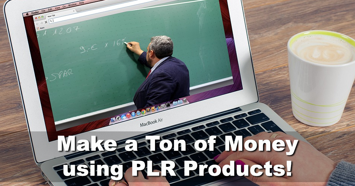 What Does PLR Mean IDPLR Review make money online using PLR Products