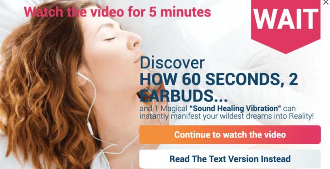 Sound for Healing Cymatics for healing