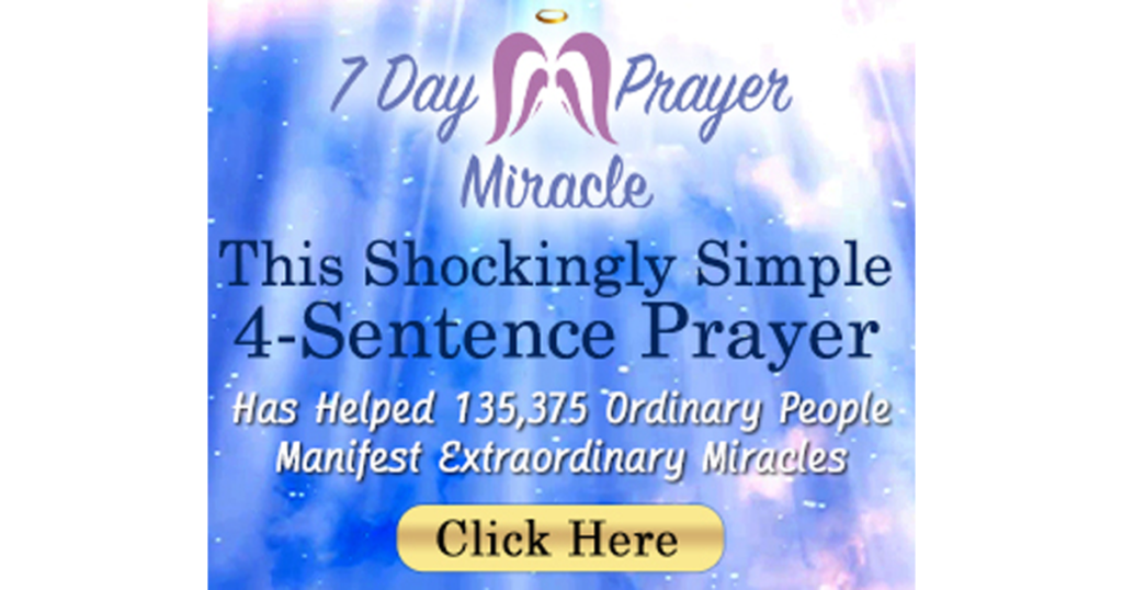 The Secret Abundance Prayer a 4 sentence prayer