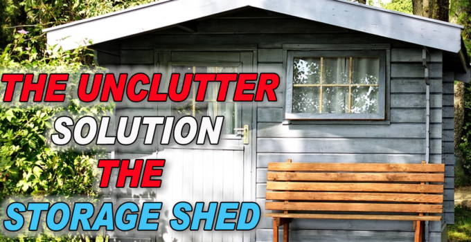 Get your FREE PDF download storage shed plans here. -The Un-Clutter Solution Storage Sheds