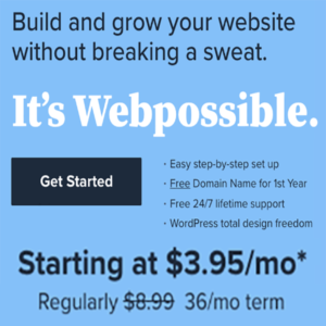 build and grow a website with discaounted hosting