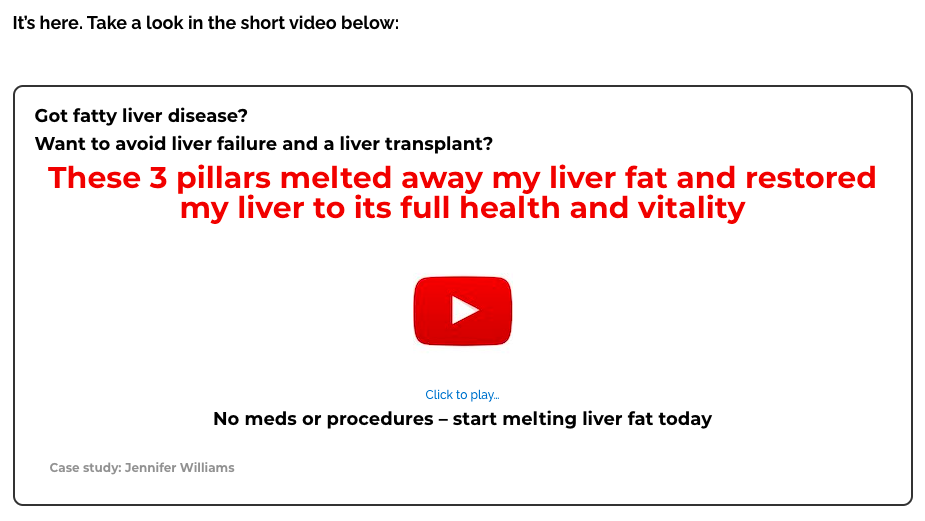 How I overcame my fatty liver disease in three steps